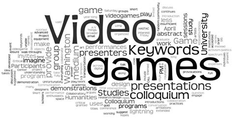 game design terminology keywords for video game studies critical gaming project