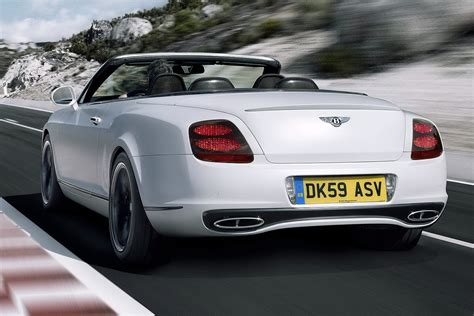 bentley sport convertible new bentley continental supersports convertible autotribute