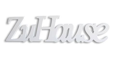 Schriftzug Zu Hause Silber Wei 223 Kupfer Holz Zum H 228 Ngen