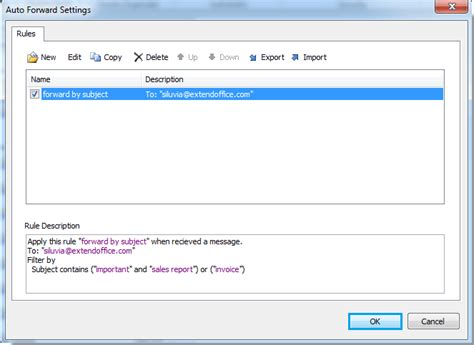 Office 365 Outlook Auto Forward Outlook Automatically Forward Emails Based On Subject