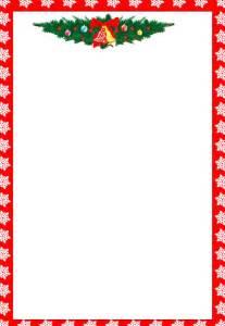 Report or christmas borders for word doc best left border christmas
