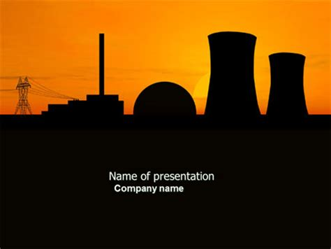 ppt templates for nuclear nuclear power plant presentation template for powerpoint