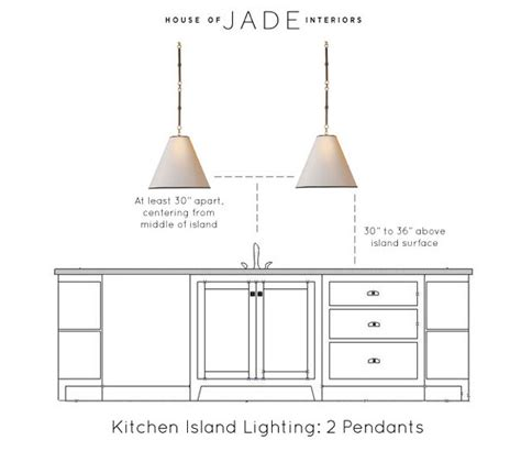 the correct height to hang pendants for the home jade kitchen island quicua com