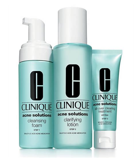 Clinique Acne clinique acne solutions clear skin system starter kit