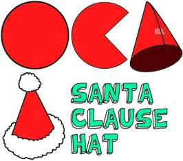 santa hats craft for kids make christmas santa clause