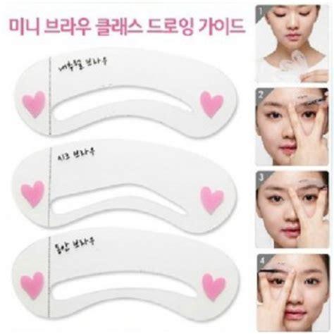 Eyeliner Etude 3 Step Berkualitas etude house mini brow class step 3 drawing guide miss