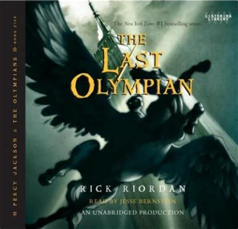 Percy Jackson And The Olympians 5 The Last Olympian Rick Riordan the last olympian percy jackson and the olympians book 5