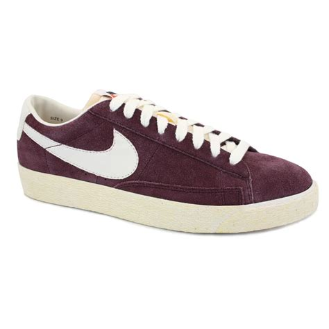 Nike Blazer Vintage Low Suede by Nike Blazer Low Premium Vintage 538402 600 Mens Laced