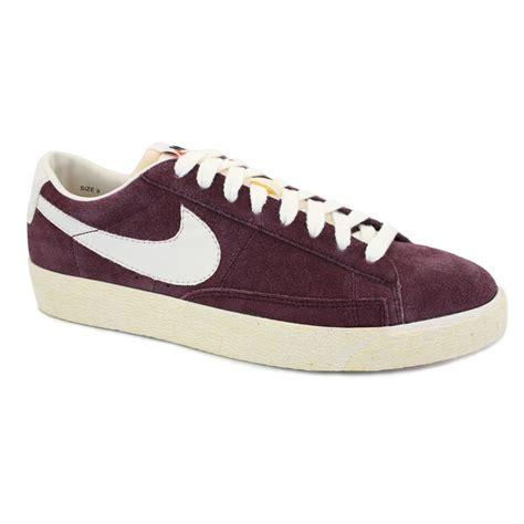 Nike Blazer Vintage Low Suede nike blazer low premium vintage 538402 600 mens laced