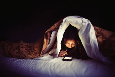 phone in bed is your phone to blame