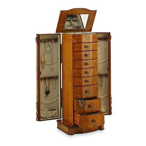 armoire jewelry box jewelry boxes jewelry care sears