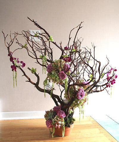 floral branches centerpiece crystal wedding treebeaded treewedding crystal tree