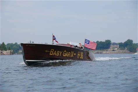 garwood boats brant lake gar wood custom boats acbs antique boats classic