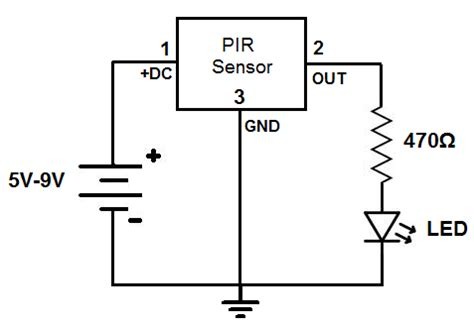 diagrams 1400800 wiring diagram for pir sensor pir nsor