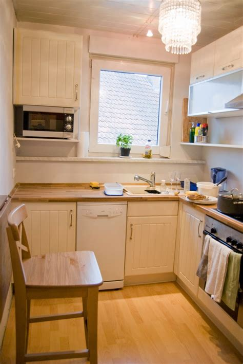 Green Cabinets In Kitchen Remodelaholic Tiny Kitchen Renovation With Faux Painted