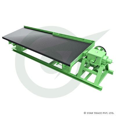 gravity table separator for gravity tables star trace pvt ltd