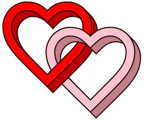 3d Love Heart | file interlaced love hearts 3d svg wikipedia