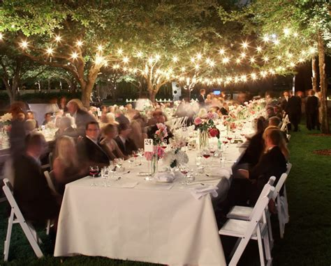 outdoor wedding lighting honored occasions