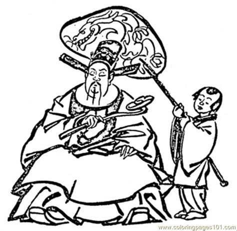 Coloring Pages Chinese Man Countries Gt China Free China Coloring Pages