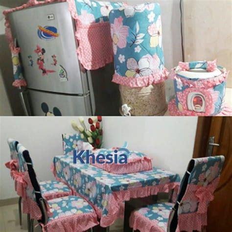 Bed Cover Set Katun Halus Bunga Size160x200180x200 taplak meja makan unik dan nyentrik dari khesia ini bikin gemess mau