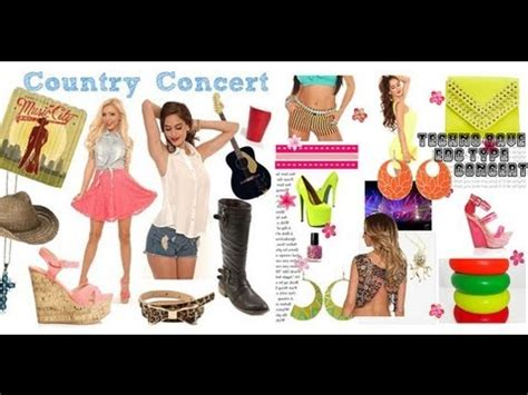 what to wear to house music concert what to wear to a concert hip hop pop country house rock indie youtube