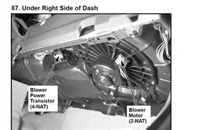 how to replace blower motor resistor honda accord 2004 i a 2002 honda crv the blower motor is in operative in all heater air defrost