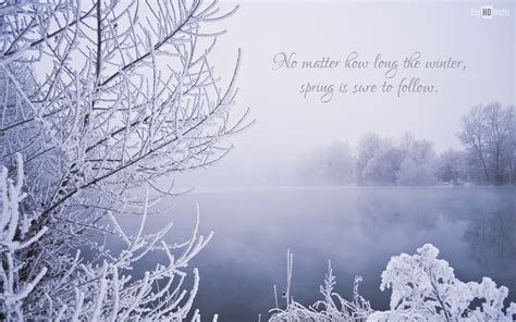 winter and quotes winter wallpaper quotes quotesgram