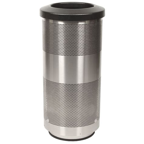 trash can outdoor 20 gallon stainless steel trash can outdoor