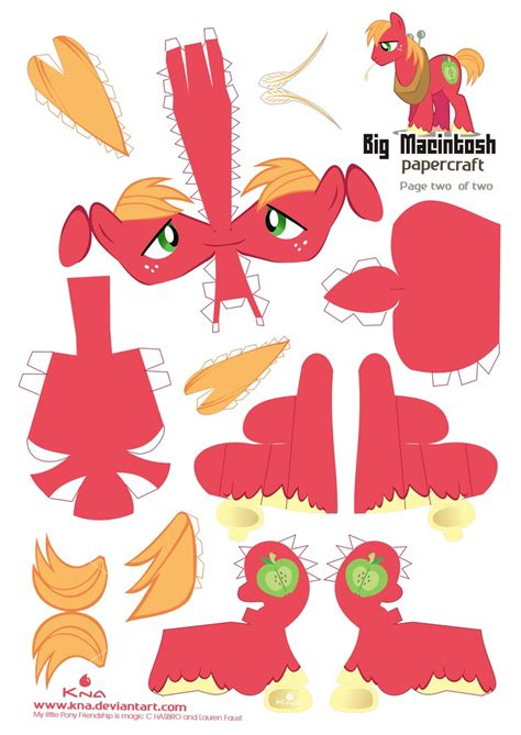 Papercraft Patterns - big mac papercraft pattern 01 by kna on deviantart