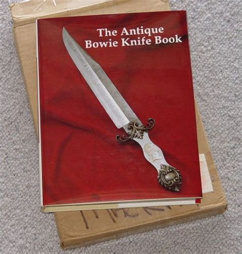 bowie and big knife fighting system books the antique bowie knife book