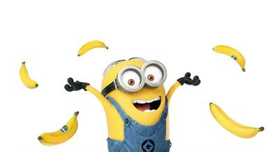 minions banana testo fotomontaggio minion banana pixiz