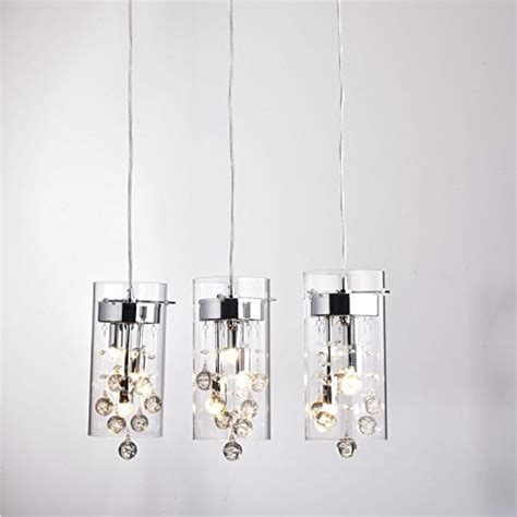 crystal pendant lighting for kitchen claxy ecopower lighting glass crystal pendant lighting