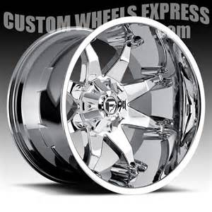 Custom Chrome Truck Wheels Fuel Octane D508 Chrome Truck Wheels Rims Fuel 1pc