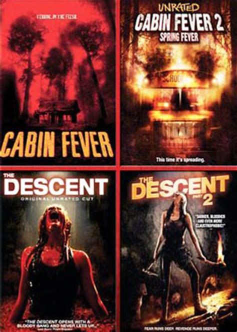 Cabin Fever 1 by Cabin Fever 1 2 Fever The Descent Part 2 Dvd New 4