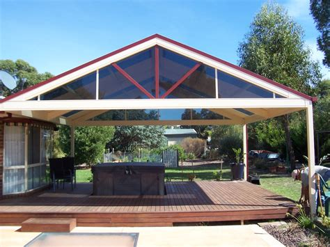 gable roof pergola plans roof styles pergolas plus