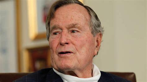 george bush ex president george h w bush leaves hospital after fall nbc 7 san diego