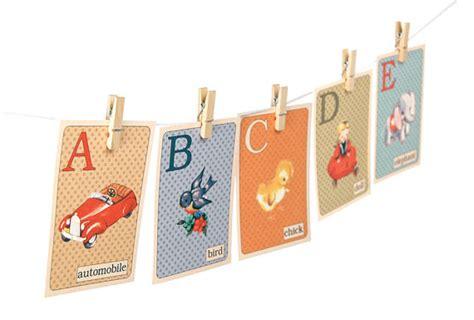 printable vintage abc flash cards 6 best images of free printable vintage alphabet flash
