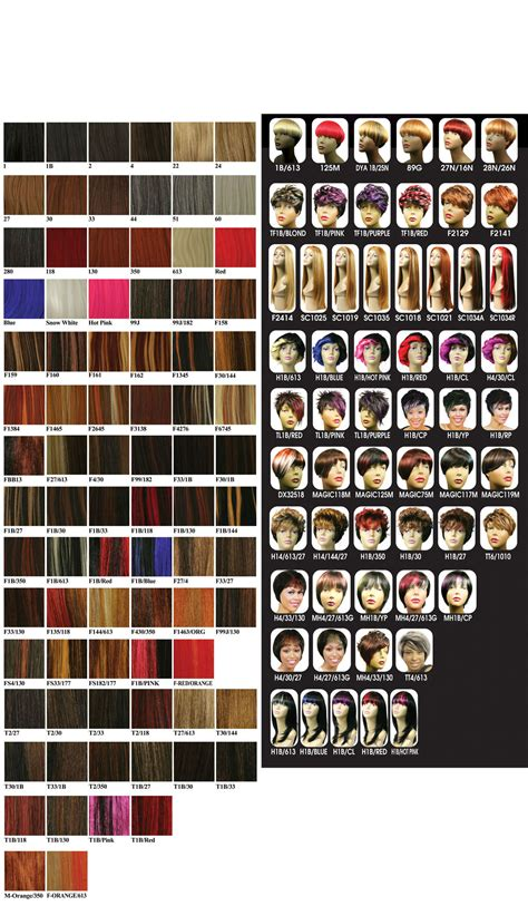 8 Best Hair Colour Chart Images On Colour Chart Hair Color Charts And Hair Color Hair Color Chart Hair Extensions Color Choise Wig Colors Weave