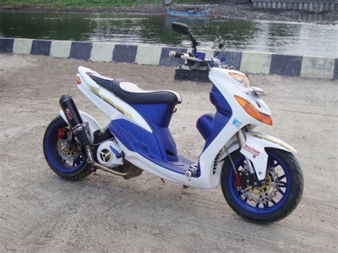 modifikasi motor mio sporty bergaya thailand