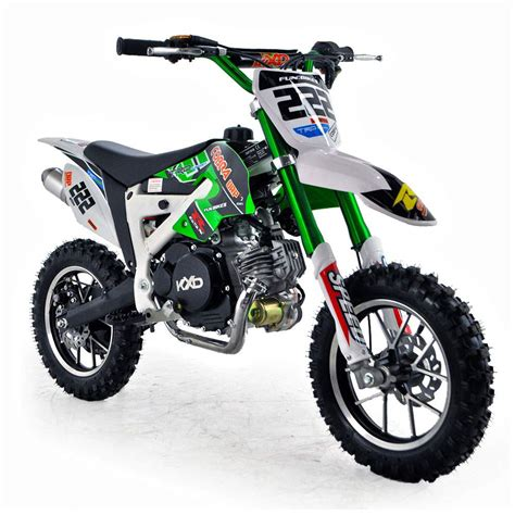mini motocross bike cobra 4s 50cc 62cm green kids mini dirt bike fics