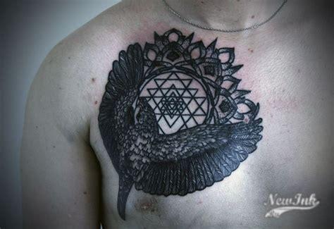 tattoo mandala bird bird mandala dot work engraving tattoo dot work pinterest