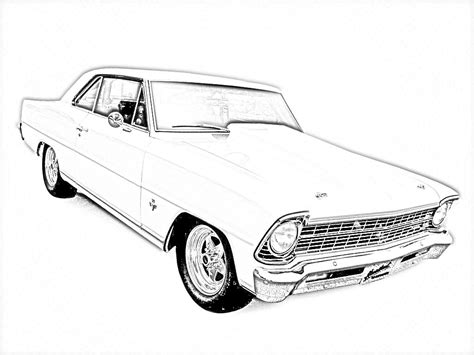 coloring pages of a cars old cars coloring pages free large images coloring
