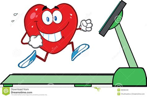 how to a to run on a treadmill healthy running on a treadmill stock photo image 36636440