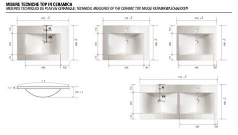 dimensioni lavandini bagno la veneta termosanitaria s r l monoblocco 120