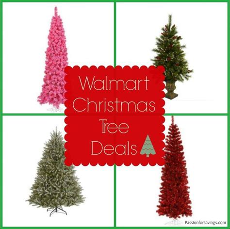 when will walmart put xmas trees on sale walmart tree deals best price 20