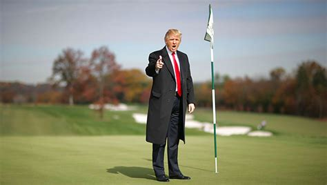 donald trump golf course donald trump s golf club accused of rigging hole in one