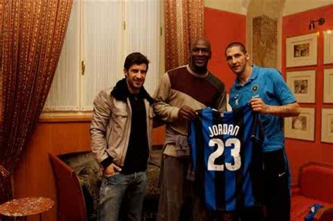 michael jordan is nerazurro p michael jordan meets figo