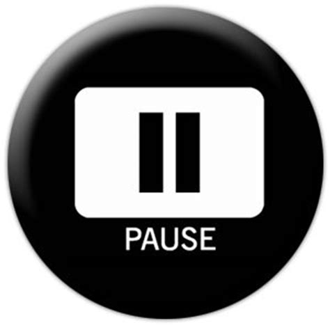 Pause The the pause button mighty river