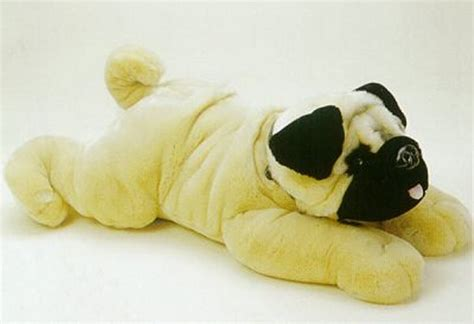stuffed pug plush stuffed pug from no china plush