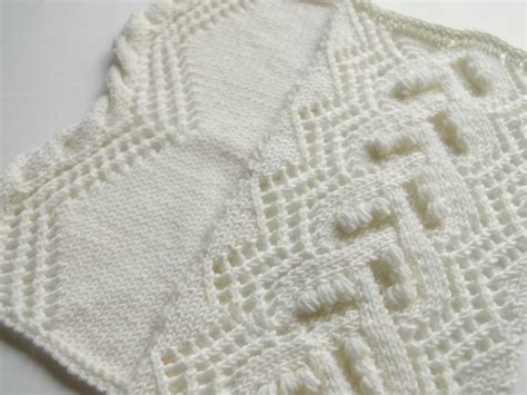 knitted lace knitted lace pattern with nupps pattern duchess